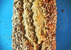 Ψωμί από αλεύρι βρώμης ολικής Healthy Cookies, Protein Foods, Healthy Recipes, Protein Recipes, Healthy Food, Banana Bread, Food And Drink, Pie, Homemade