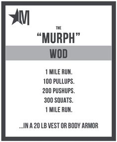 The Workout - The Murph Challenge