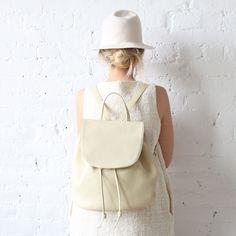 rennes Siduri Backpack Cream