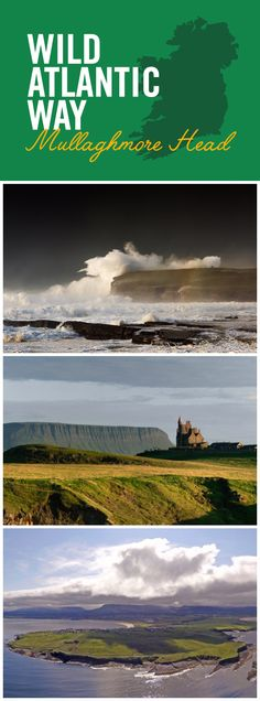 The surging swell around Mullaghmore Head makes this spot on the Wild Atlantic Way a favorite for surfers, but there's so much more to see here! The ancient monastic ruins of Inishmurray Island and magnificent Classibawn Castle await any faithful explorers – and in the background, Ben Bulben, the mountain remembered fondly through the poetry of W.B. Yeats.