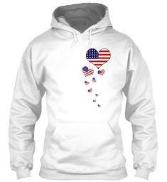 FASHION#CC Stand for The American Flag Mens Pullover Hoodie Sweatshirt with Pockets