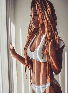 Locs and beauty Yesss! Locs and beauty Dreadlock Styles, Dreadlock Hairstyles, African Hairstyles, Dreads Rasta, Black Girls Hairstyles, Cool Hairstyles, Hairstyles 2016, Medium Hairstyles, Everyday Hairstyles