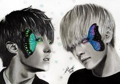 Fan art J-hone and V