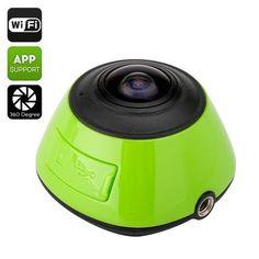 $164.29 360 Degree Wi-Fi Action Camera