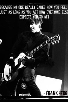 Frank Iero (MCR) | lyrics are from his solo contribution to the Frankenweenie soundtrack: This Song Is A Curse