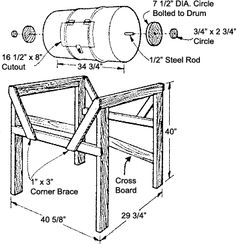 How to Make a Rotating Barrel Composter
