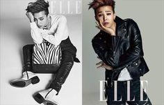 G-Dragon - Elle Korea Spread