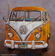 Susie Cipolla Art gallery Au P tit Bonheur Art Gallery Art Hippie, Art Gallery, Automotive Art, Automotive Solutions, Automotive Industry, Truck Art, Car Painting, Painting Plastic, Painting Canvas