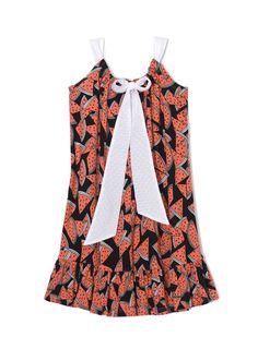 watermelon bow dress