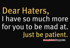 hater quotes | Haters Quote in English With Pic | Attitude Quote Image For Facebook ...