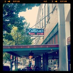 Visit Lillian's Music Store in Downtown, home to live music in Gainesville for over 30 years!
