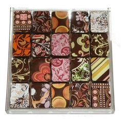 20 Mixed Chocolates from Lauden Chocolate: laudenchocolate.com