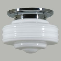 Astoria 1Piece Batten Fix - Chrome + Detroit Small Glass (DIY)