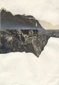 Melinda Laszczynski is a Cleveland-based artist I recently connected with. Her collaged landscapes are really breathtaking.