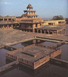 Fatehpur Sikri- Indian Palace of the 3rd Mugal Emperor, Akbar    bensozia