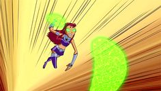 Teen Titans Go! : Starfire shooting starbolts