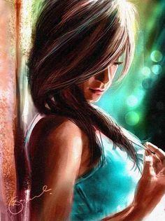 digital painting. Kiran Kumar