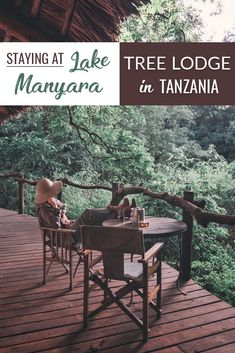 The coolest treehouse in Tanzania -  Lake Manyara Tree Lodge