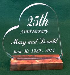 Anniversary Cake Topper Personalized *** Huge discounts available now! : Baking decorations