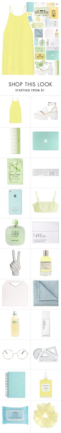 """""""❤"""" by angelina188 ❤ liked on Polyvore featuring TIBI, CASSETTE, H&M, MTWTFSS Weekday, Giorgio Armani, NARS Cosmetics, nOir, Le Labo, Imago-A and JCPenney Home"""