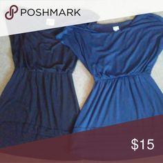Vanity dresses Black & Navy blue vanity dresses, worn once vanity Dresses Midi