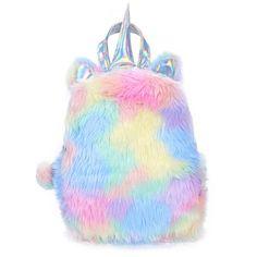 Unicorn Gifts, Cute Unicorn, Rainbow Unicorn, Real Unicorn, Rainbow Sky, Cute Mini Backpacks, Girl Backpacks, School Backpacks, Unicorn Fashion