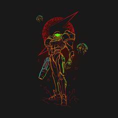 Shop Shadow of bounty hunter metroid t-shirts designed by Donnie as well as other metroid merchandise at TeePublic. Metroid Samus, Samus Aran, Metroid Prime, Ocarina Of Times, Zero Suit Samus, Super Metroid, Nintendo Characters, Some Games, Pokemon Fusion
