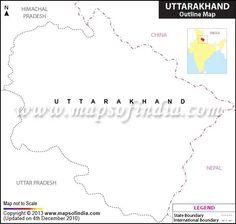 24 best Travel to Uttarakhand images   Blue prints, Cards, Map