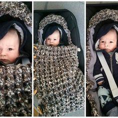 Haakpatroon Trappelzak voor de Maxi Cosy Kijk verder op Lindevrouwsweb!  http://lindevrouwsweb.blogspot.nl/2015/12/gehaakte-trappelzak.html?m=0 Gehaakt voor Moos! #haken#babytrappelzak#trappelzak#gehaaktetrappelzak#babyasseccories#baby#haakpatroon