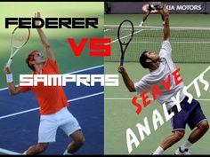 Federer vs Sampras Serve Analysis | Pro Technique | Top Tennis Training - YouTube