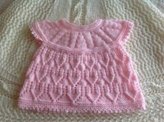 Read this: We have some of the most skilled knitters Baby Dress Patterns, Baby Knitting Patterns, Free Knitting, Toddler Cardigan, Baby Cardigan, Baby Girl Sweaters, Little Cotton Rabbits, Doll Clothes, Bella Coco