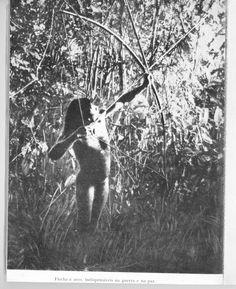 Foto de índio Karaja feita por Raymond Maufrais em Goias.