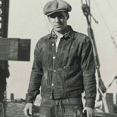 themanofyesteryear American construction worker 1930's 2016/10/12