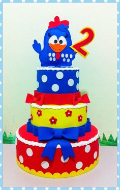 Cake Art Miranda : 1000+ images about Galinha pintadinha on Pinterest Mesas ...