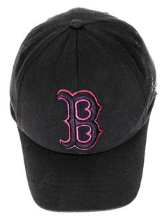 Boston red sox baseball cap black hat flexifit  mens womans clothing lid 171
