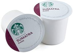 Starbucks Sumatra Dark Roast Coffee Keurig KCups 48 Count -- Find out more about the great product at the affiliate link Amazon.com on image.