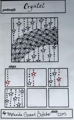 Molly Bee's Attic: Lots of New Tangle Pattern Ideas!