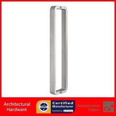 238.00$  Buy here - http://alidu0.worldwells.pw/go.php?t=1186952914 - Shower Door Pull Handle Made With 304 Stainless Steel For Bathroom Entrance Doors PA-1572-30*15*465mm 238.00$