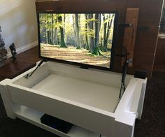 competitive price c9f7f d21a7 10 Best Hidden TV in Coffee Table images | Hidden tv, Table ...