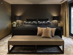 AMAZING MASCULIN BEDROOM!                                                                                                                                                                                 More