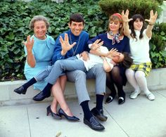 Nimoy with his family.