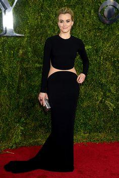 Taylor Schilling de Michael Kors - Tony Awards