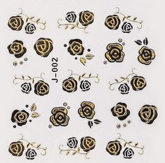 One Piece Flower Shape 3D Nail Sticker Category: Beauty > Nails & Tools > Stickers & Decals #3dnailartstikers #3dstikers #nailstikers #artstikers #bridgat.com