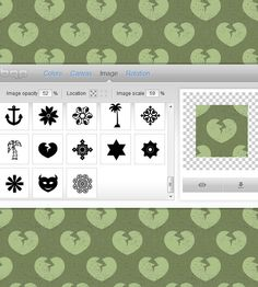 Links for Online Background Pattern Generators found at PSDDude - http://www.psd-dude.com/tutorials/resources/online-background-pattern-generators.aspx