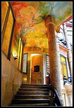 Gaudi's work:  La Pedrera