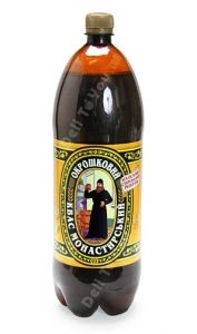 """Kvas -""""THE"""" drink of summer in Ukraine!  Vendors with tanks come out and sell it by the cup. You can also buy it in shops (Kvas """"Monastirskiy"""", 2L) or make you own out of fermented bread crumbs...yep, fermented bread crumbs!"""