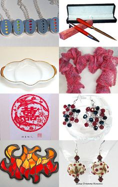 I've Seen Fire and I've Seen Rain by Gail on Etsy--Pinned with TreasuryPin.com