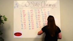 Can you beat Emily in the Candle Warmers Etc. 50 State Challenge? Name all 50 states in 10 minutes without looking at a map and tell us your score.