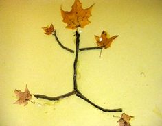 Fun fall idea for after a nature hunt