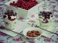 Katrins favoriete recepten: Trifle van met bramen en rode bessen